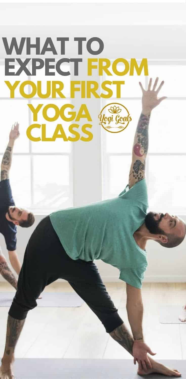 Yoga class. The last uncharted territory for the modern man. Here we break down exactly what you can expect to find from your first yoga class, and equip you with the right tools to move forward. #yoga #yogainspiration #yogaeverydamnday #yogigoals