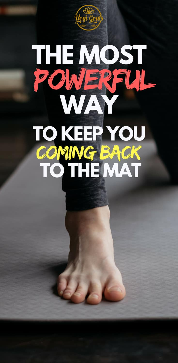Struggling to motivate yourself to practice yoga as often as you'd like? We've all been there. Motivation is a fleeting thing, so don't wait for it - create it. Learn how to use your favourite yoga poses and routines to keep you coming back to the mat.. #yoga #yogainspiration #yogaeverydamnday #yogigoals #yogapose #yogatips #yogastyle