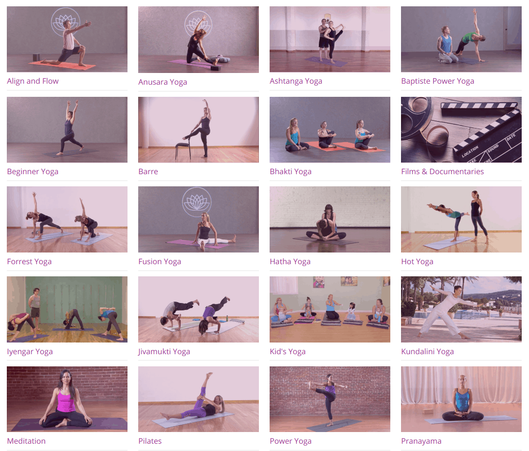 yogadownload yoga class styles